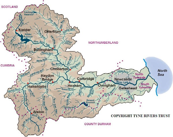 The Tyne Catchment