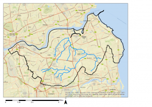 Don Catchment map
